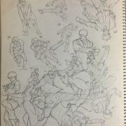 絵の練習に利用した書籍