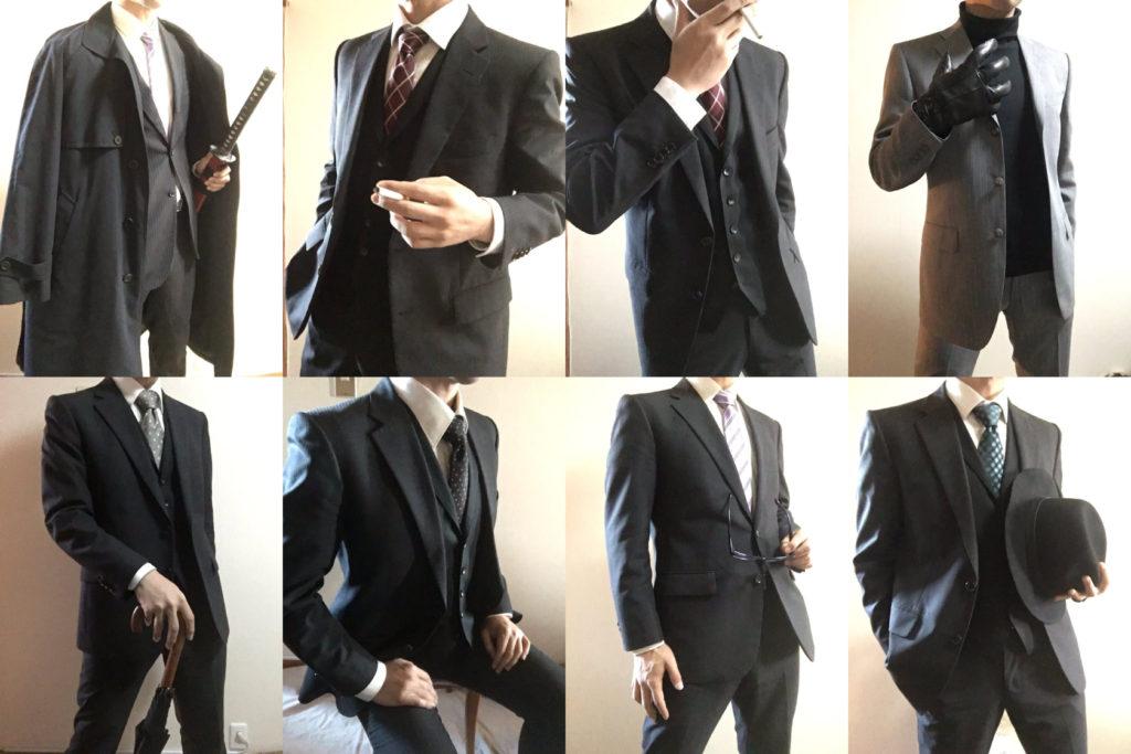 スーツドローイング