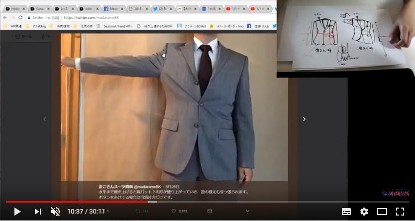 スーツドローイング 補足動画