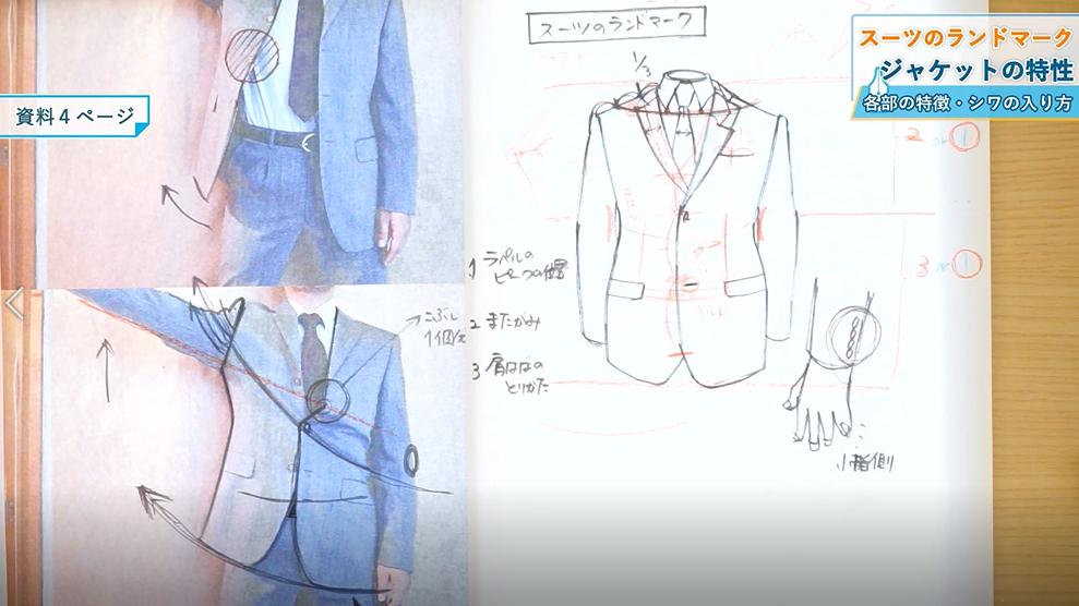 【パルミーオンライン講座】音声動画でいつでも受講可能!一緒に描いて上手くなるスーツドローイング入門