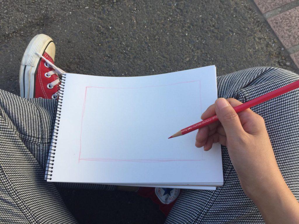 ルーミス日記 風景スケッチ
